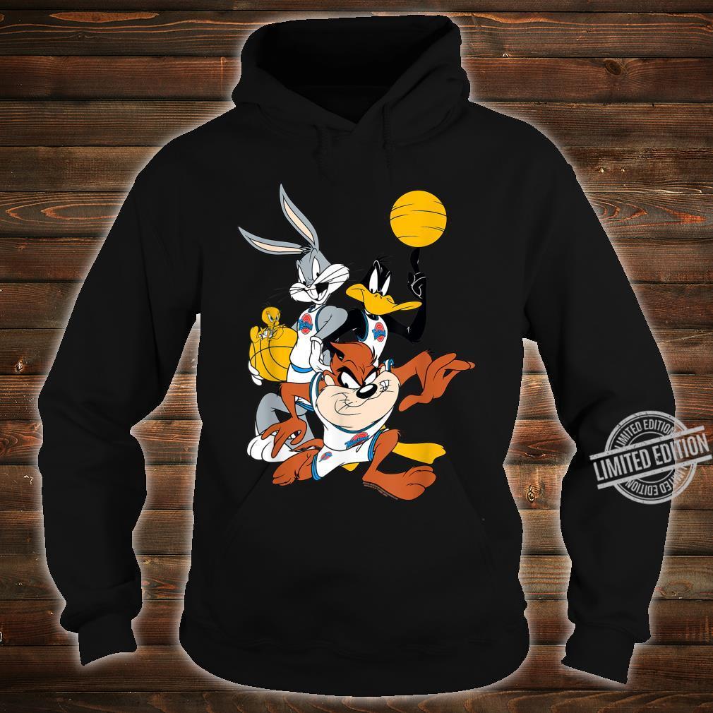 BILSPJ00007 Space Jam Bugs and Daffy Group Shot Shirt hoodie