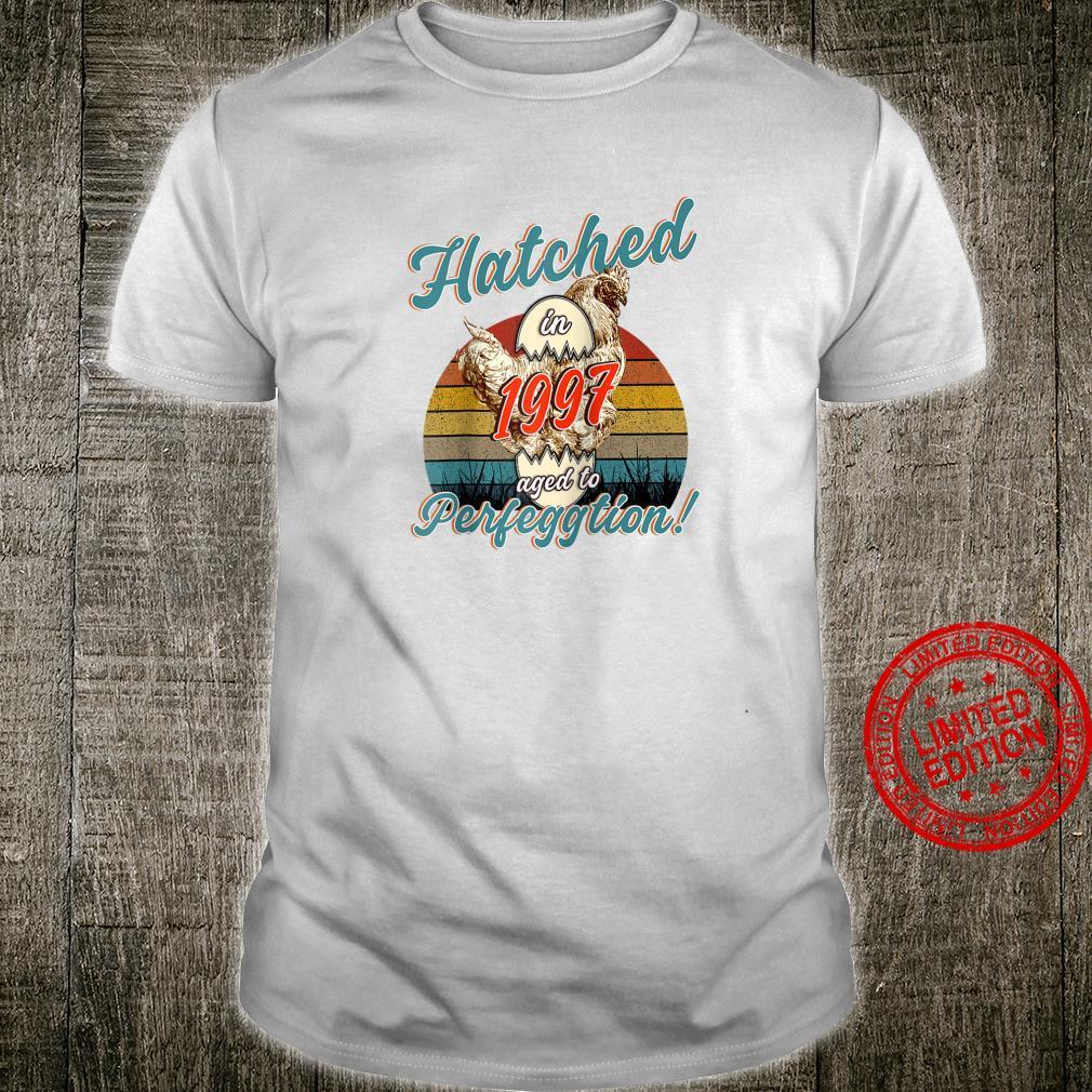 Chicken Born in Hatched in 1997 Birthday Birth Year Shirt