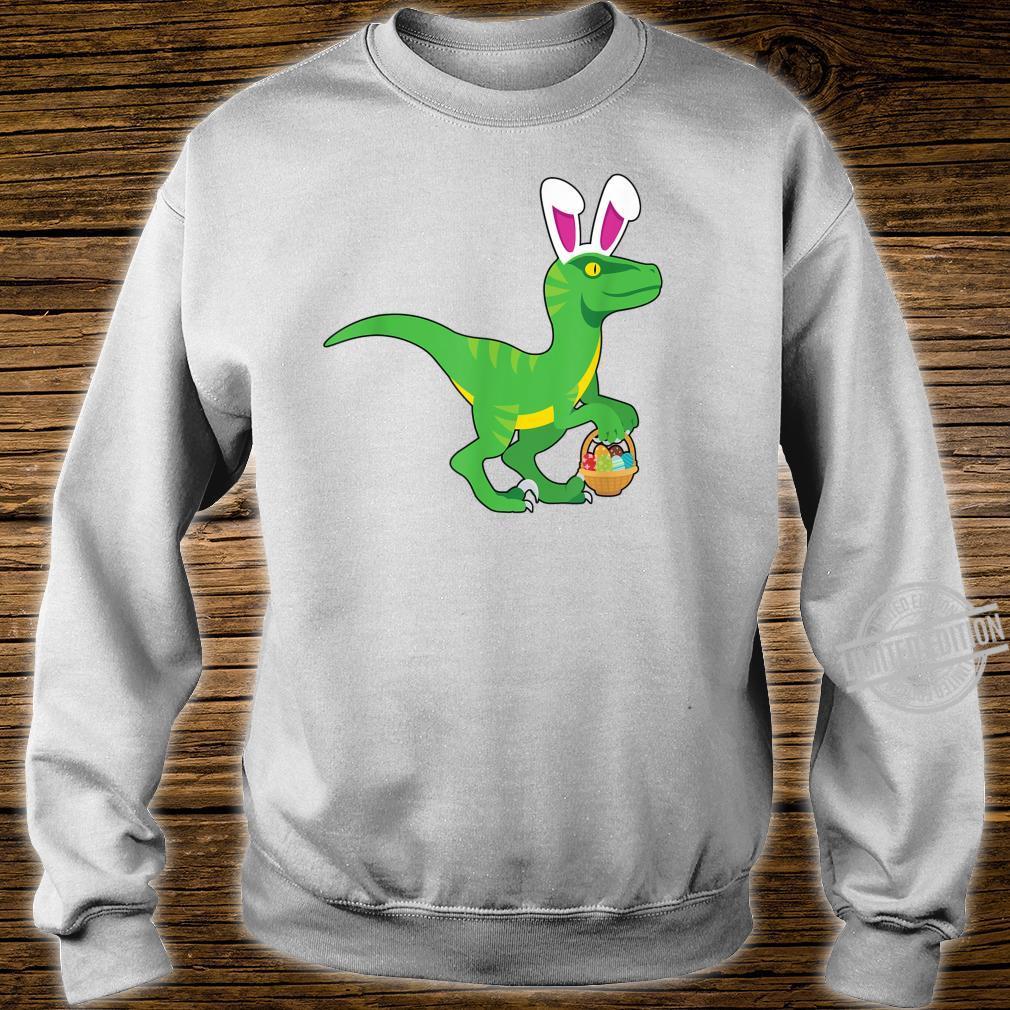 Easter Velociraptor Shirt sweater