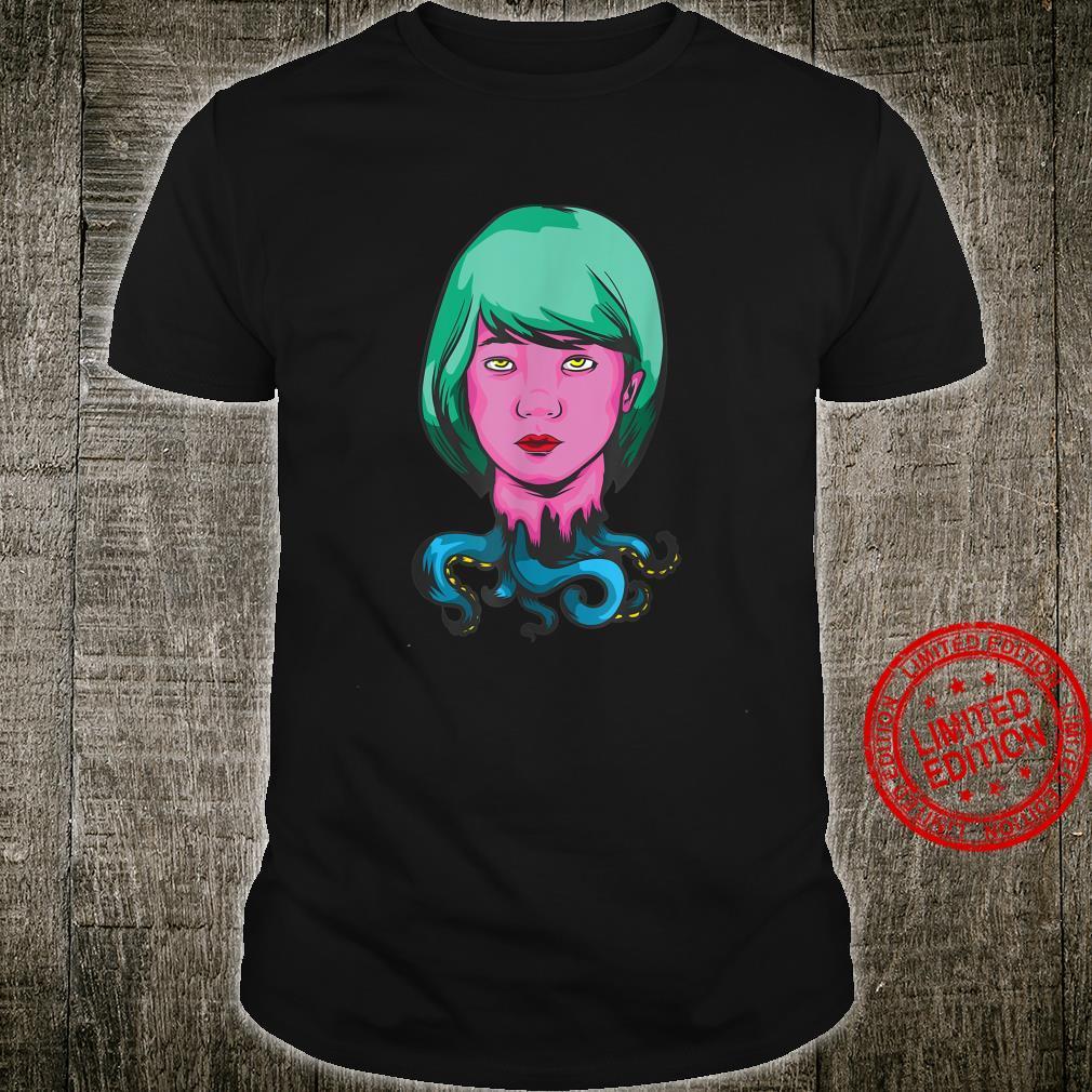Hiphop Urban Streetwear Krake Mädchen Shirt