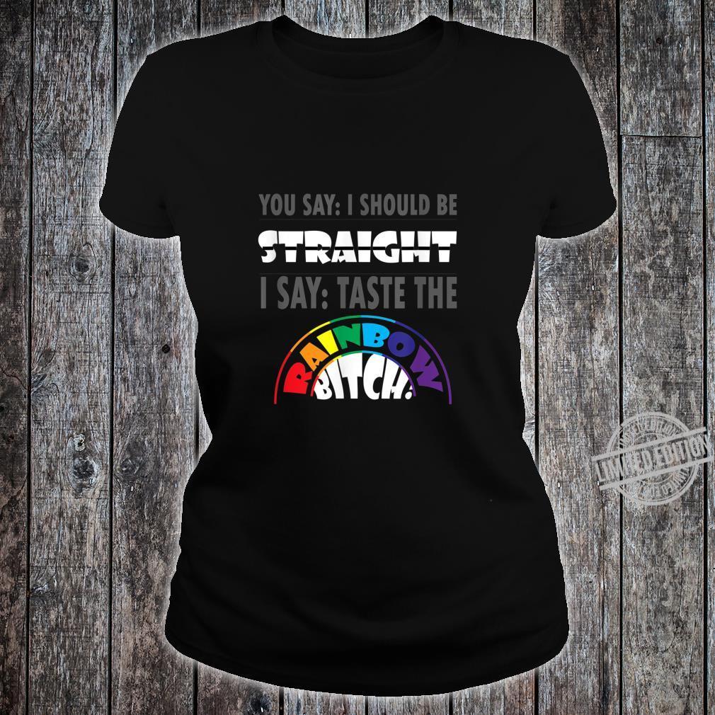 LGBT Gay Pride Schwule Lesben Bisexuelle Transgender Shirt ladies tee