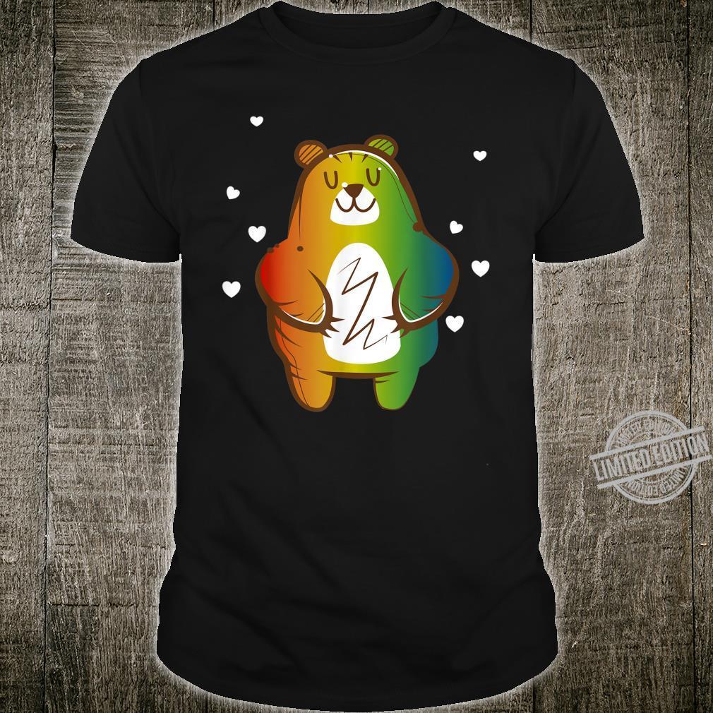 LGBT Homosexuell Regenbogen Bär Shirt