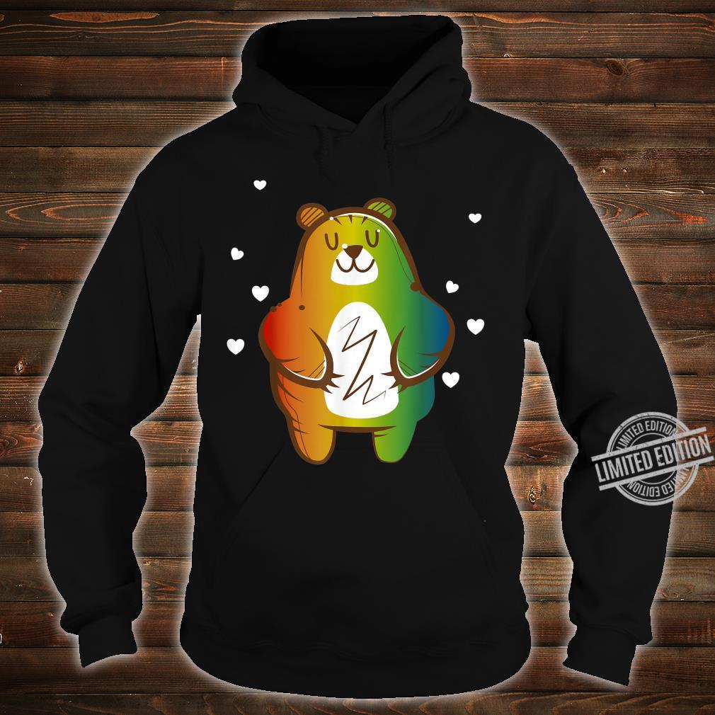 LGBT Homosexuell Regenbogen Bär Shirt hoodie