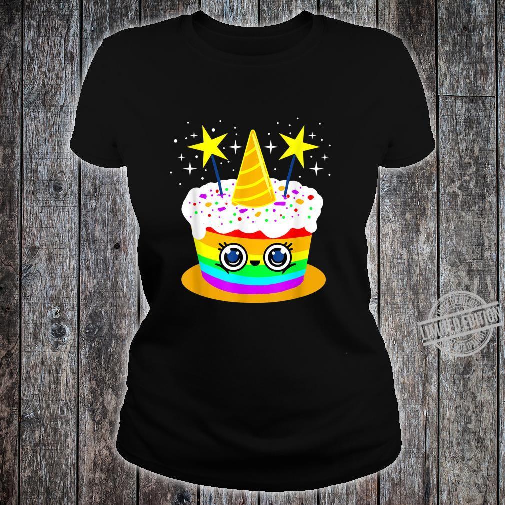 LGBT Kuchen Shirt ladies tee