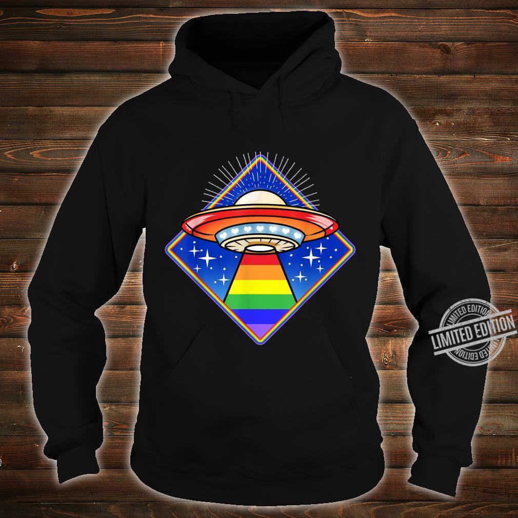 LGBT Ufo Shirt hoodie
