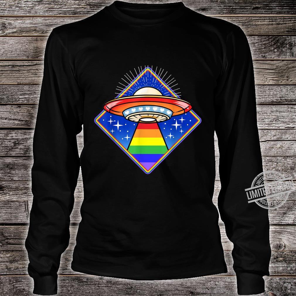 LGBT Ufo Shirt long sleeved