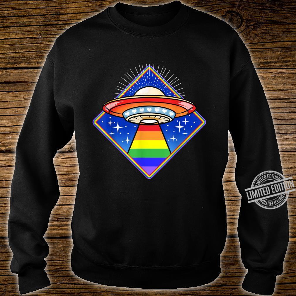 LGBT Ufo Shirt sweater