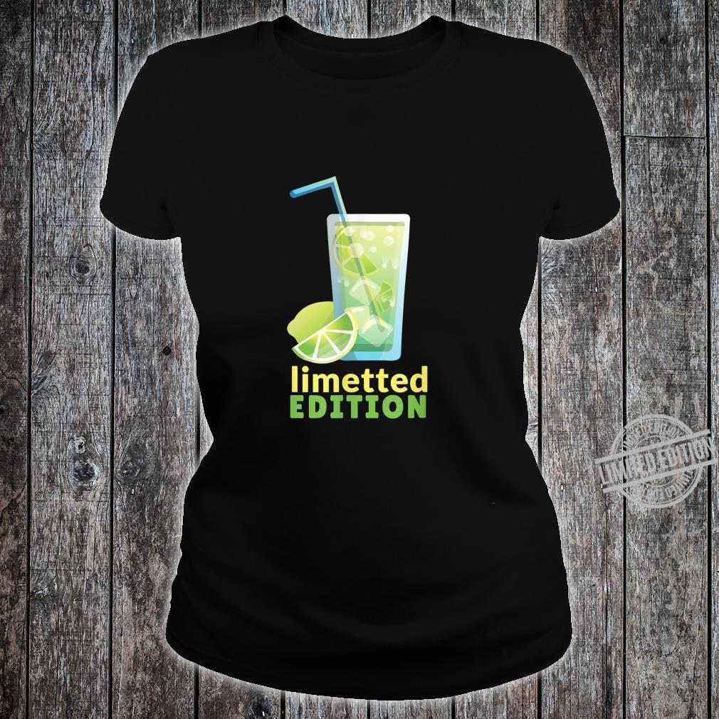 LIMETTED EDITION Shirt ladies tee