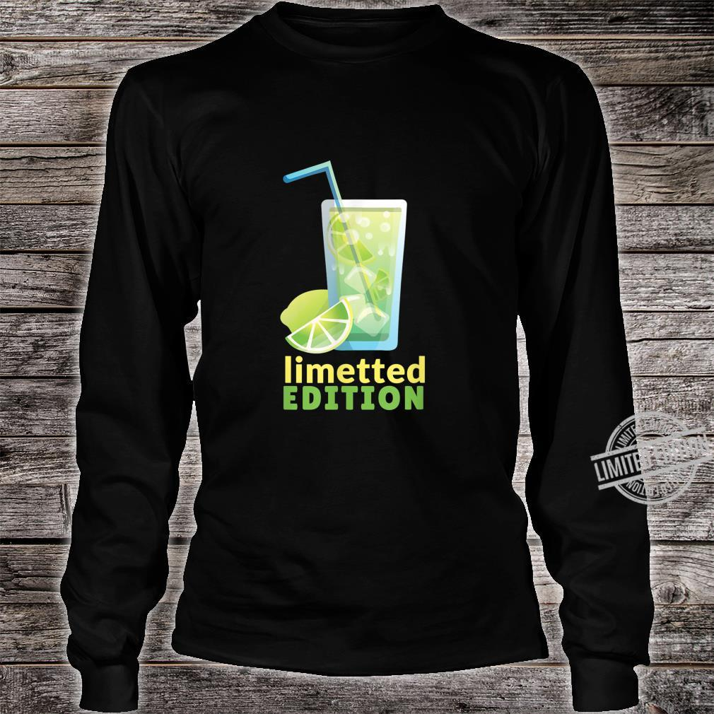 LIMETTED EDITION Shirt long sleeved