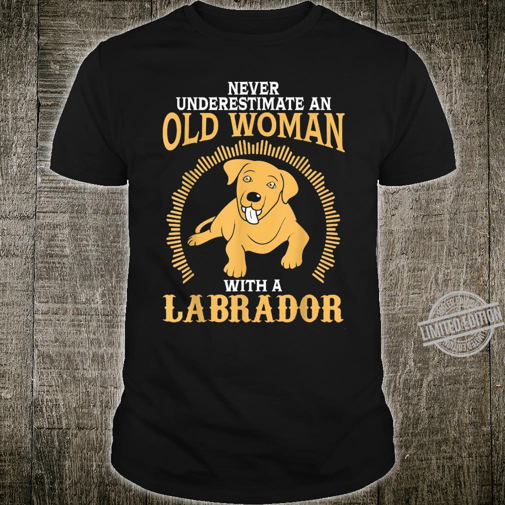 Lab Labrador Grandma Mom Mama Mother Idea Shirt