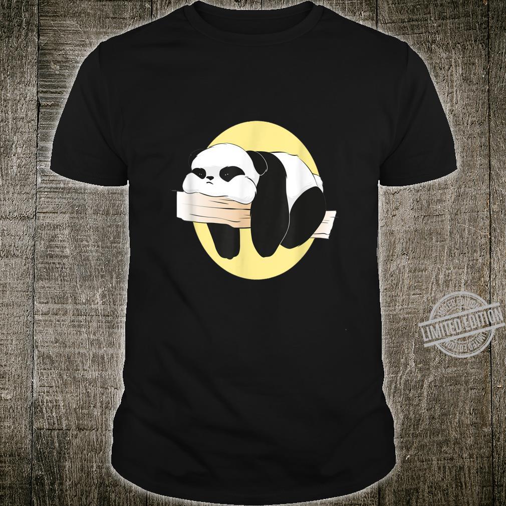 Langweilige süße langweilige Panda Frauen Männer Geschenke Shirt
