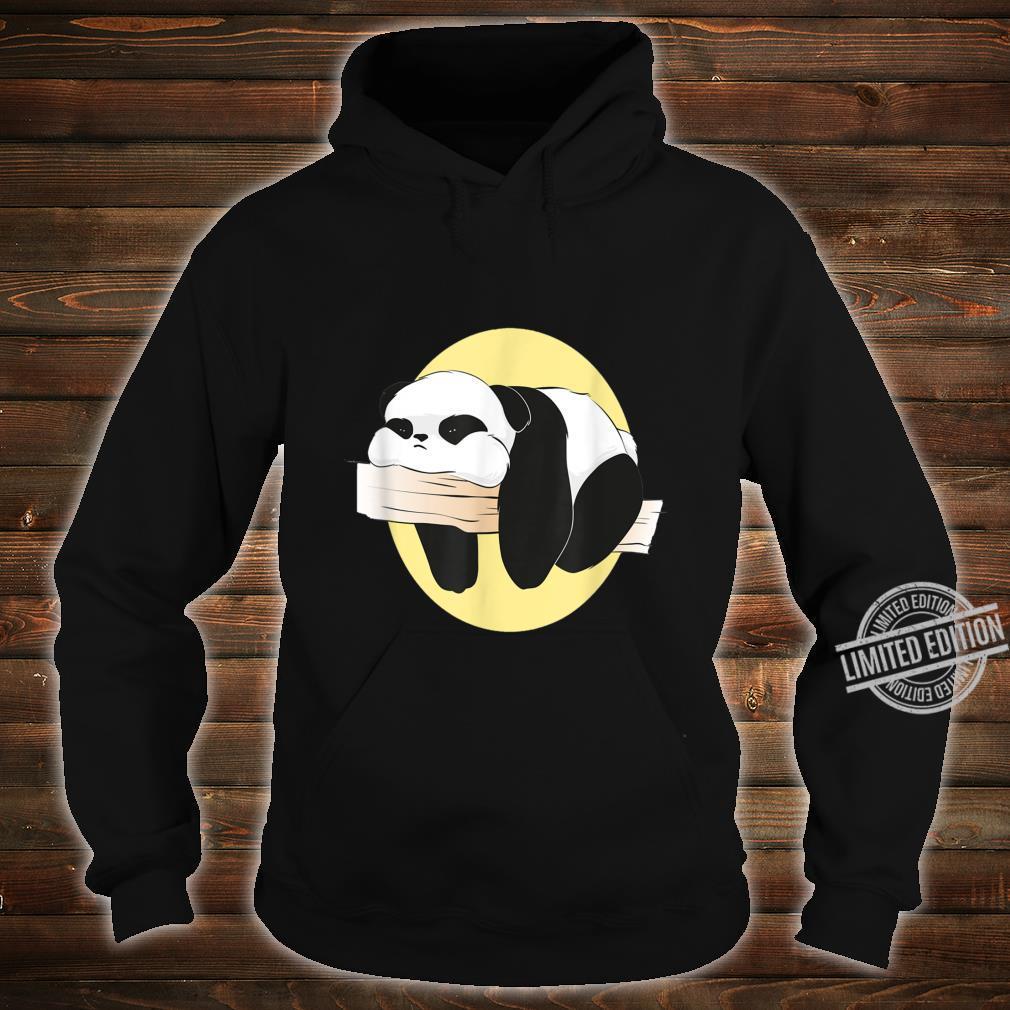 Langweilige süße langweilige Panda Frauen Männer Geschenke Shirt hoodie