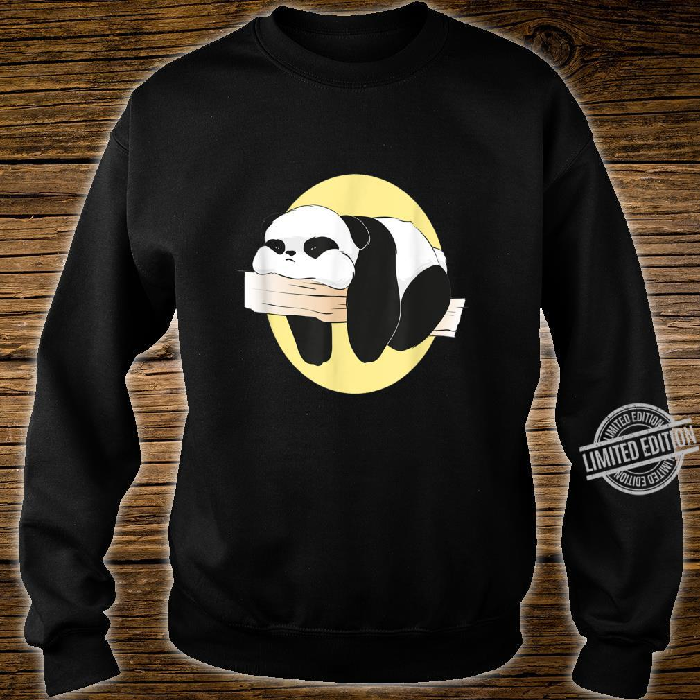 Langweilige süße langweilige Panda Frauen Männer Geschenke Shirt sweater
