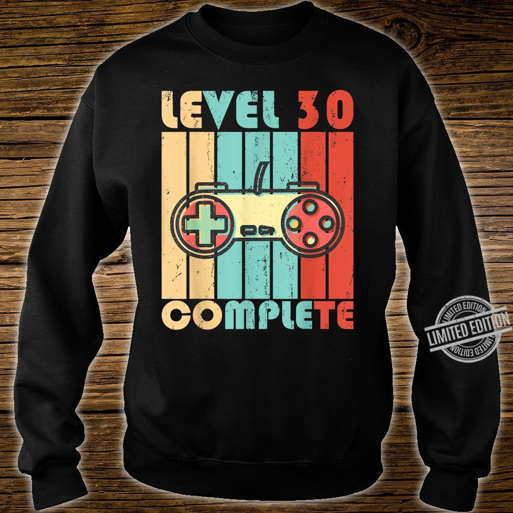Level 30 Complete Video Game Controller Shirt sweater