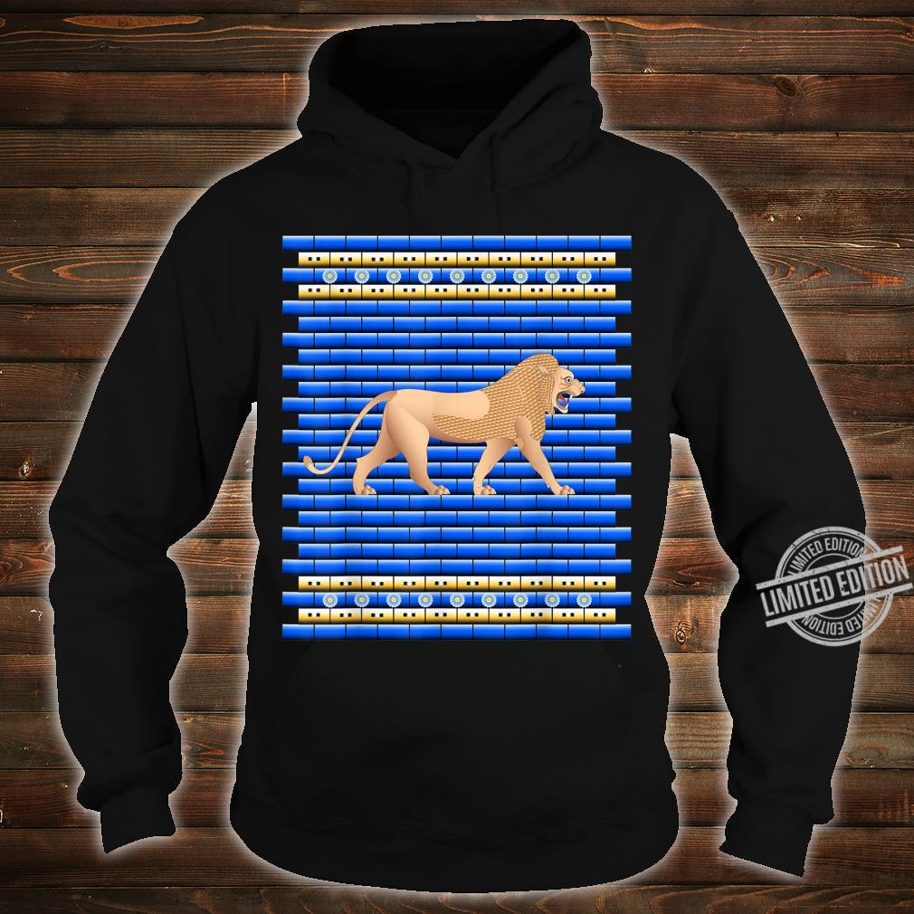 Lion of the Ishtar Gate Shirt hoodie