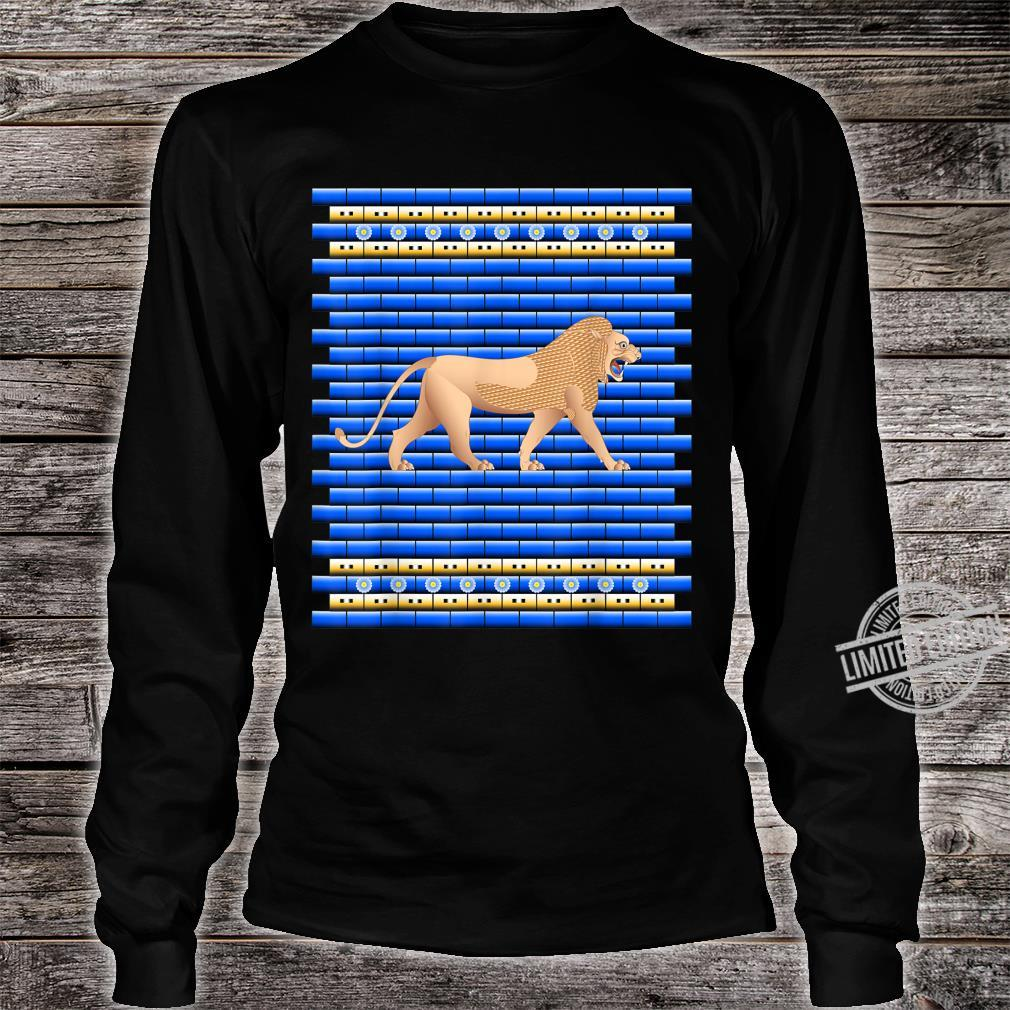Lion of the Ishtar Gate Shirt long sleeved