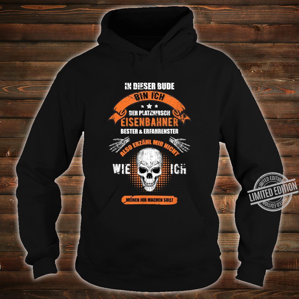 Lokführer, Eisenbahn I Sprüche GeschenkIdee I Zug Shirt hoodie