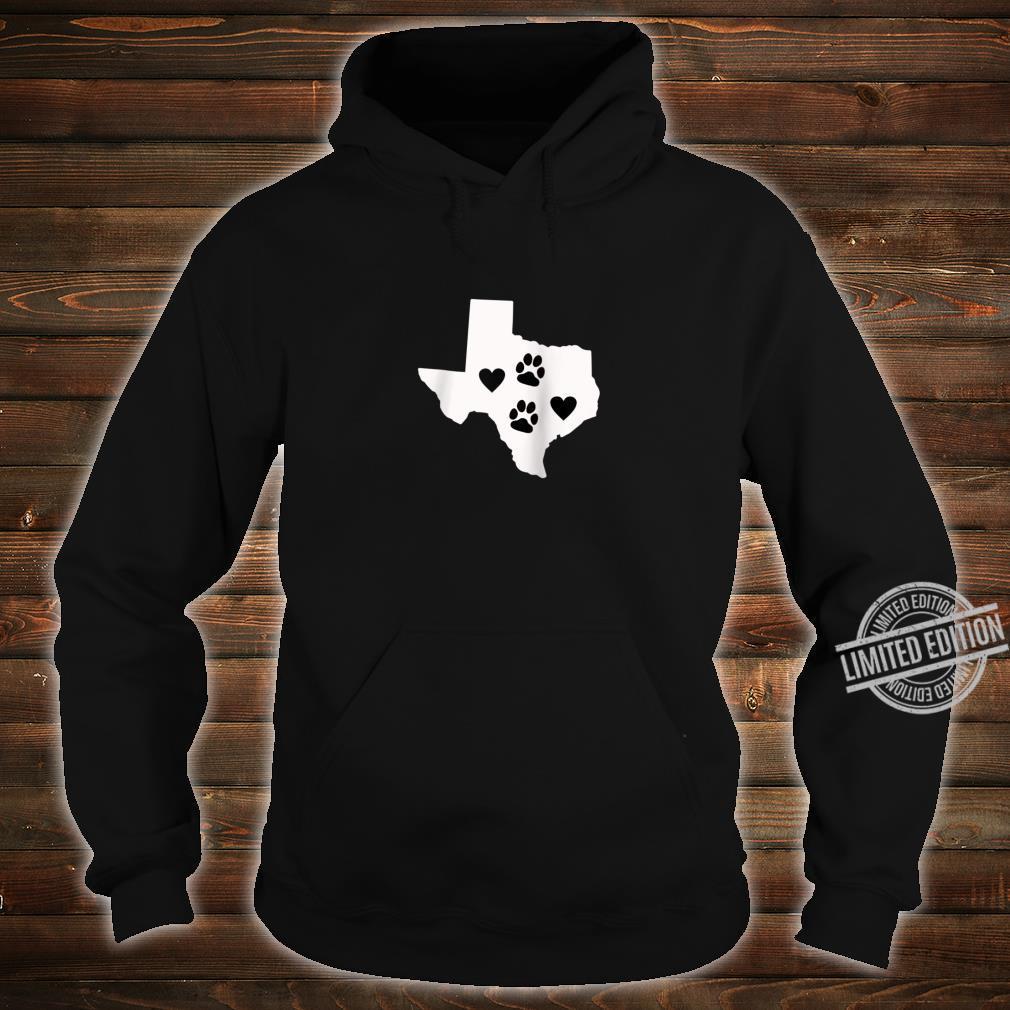 Love Dogs Texas Cute Design Shirt hoodie