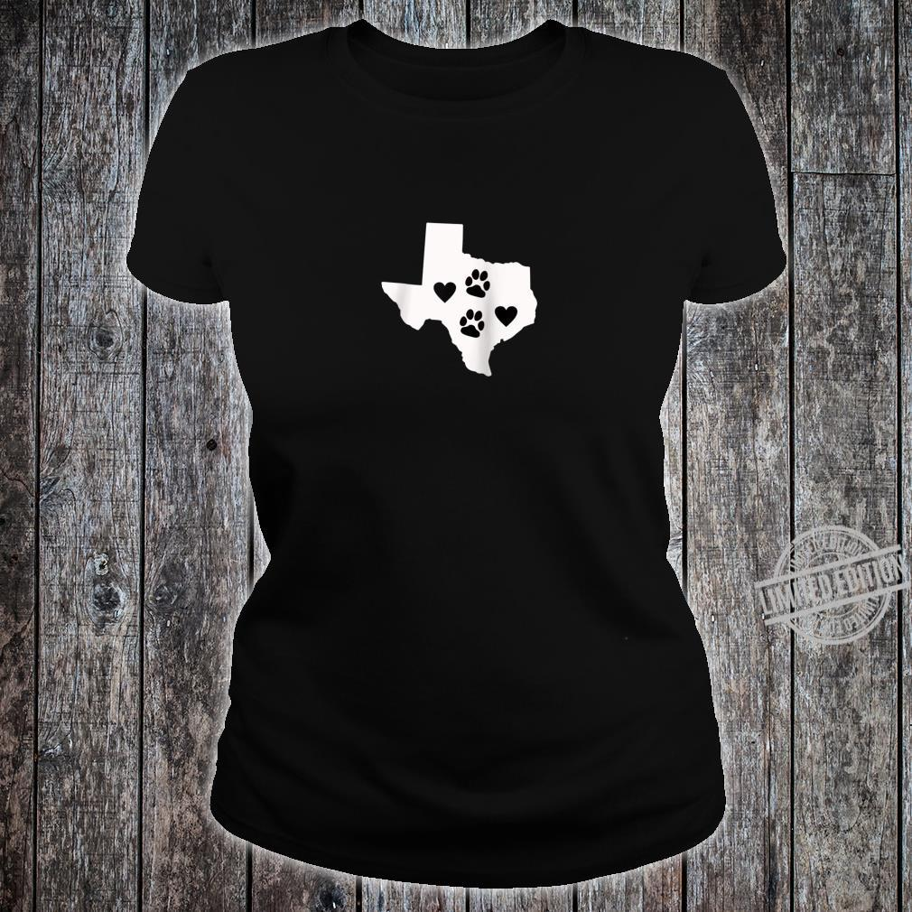 Love Dogs Texas Cute Design Shirt ladies tee