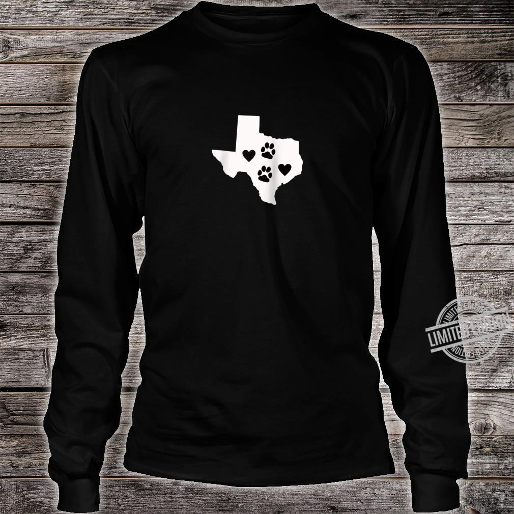Love Dogs Texas Cute Design Shirt long sleeved