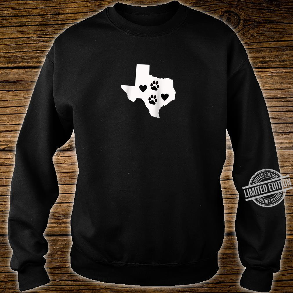 Love Dogs Texas Cute Design Shirt sweater