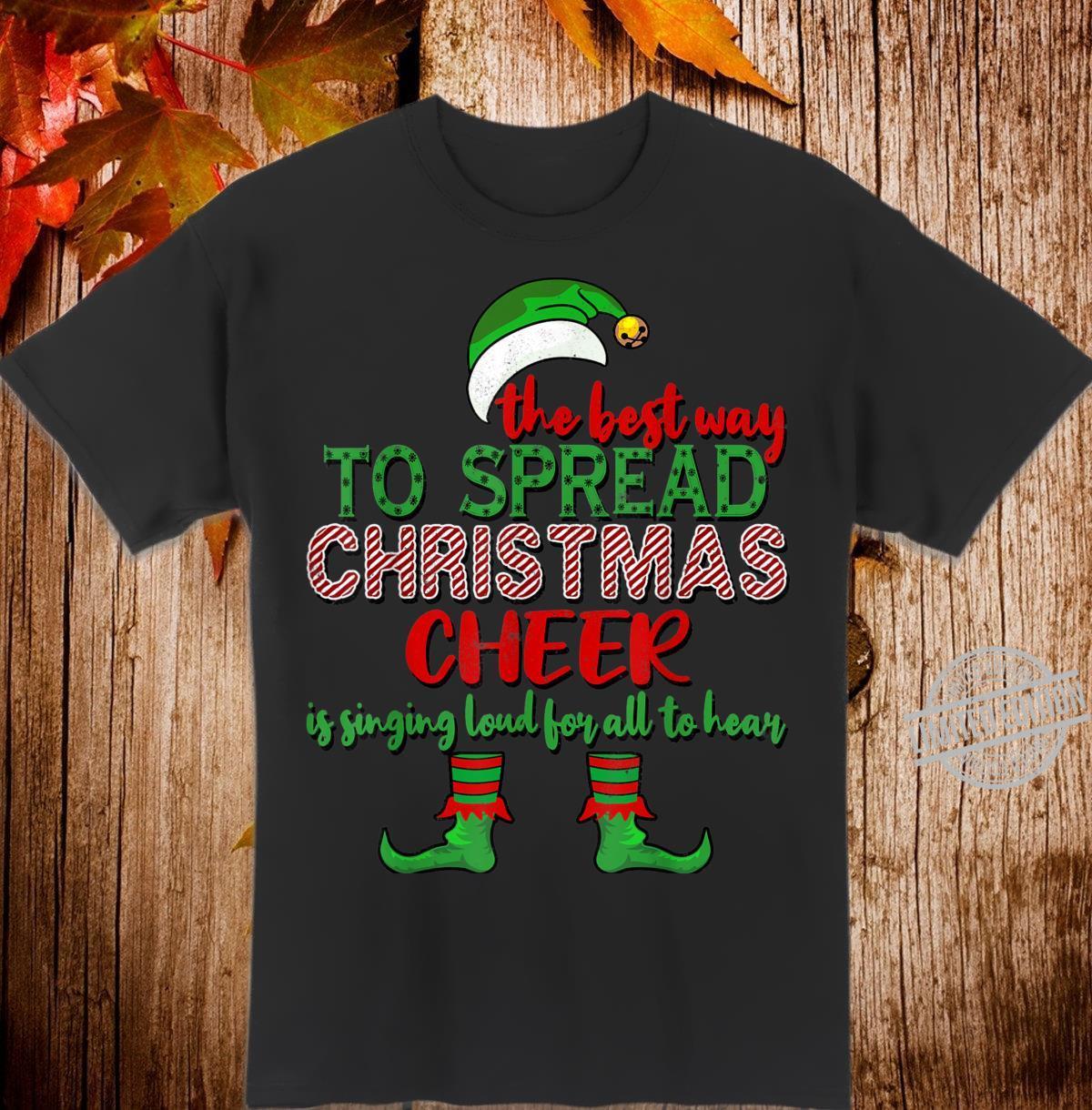 Spread Christmas Cheer Christmas Shirt