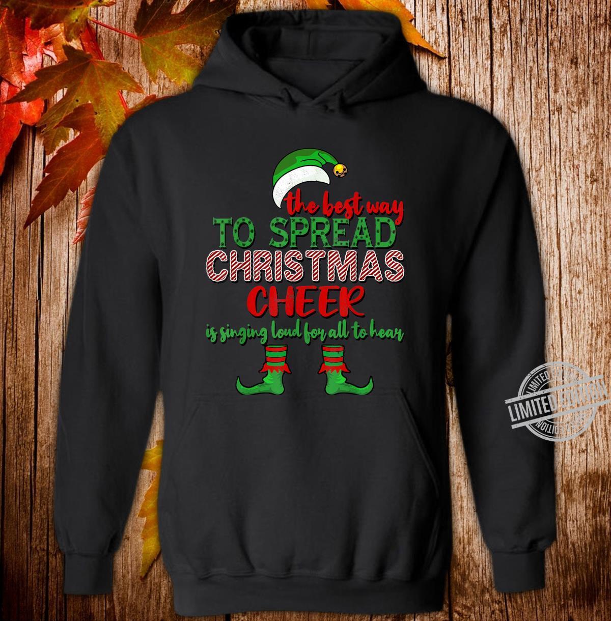 Spread Christmas Cheer Christmas Shirt hoodie