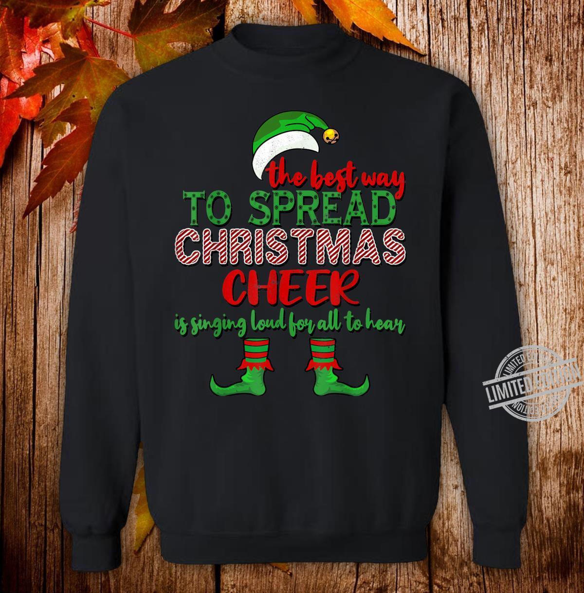 Spread Christmas Cheer Christmas Shirt sweater