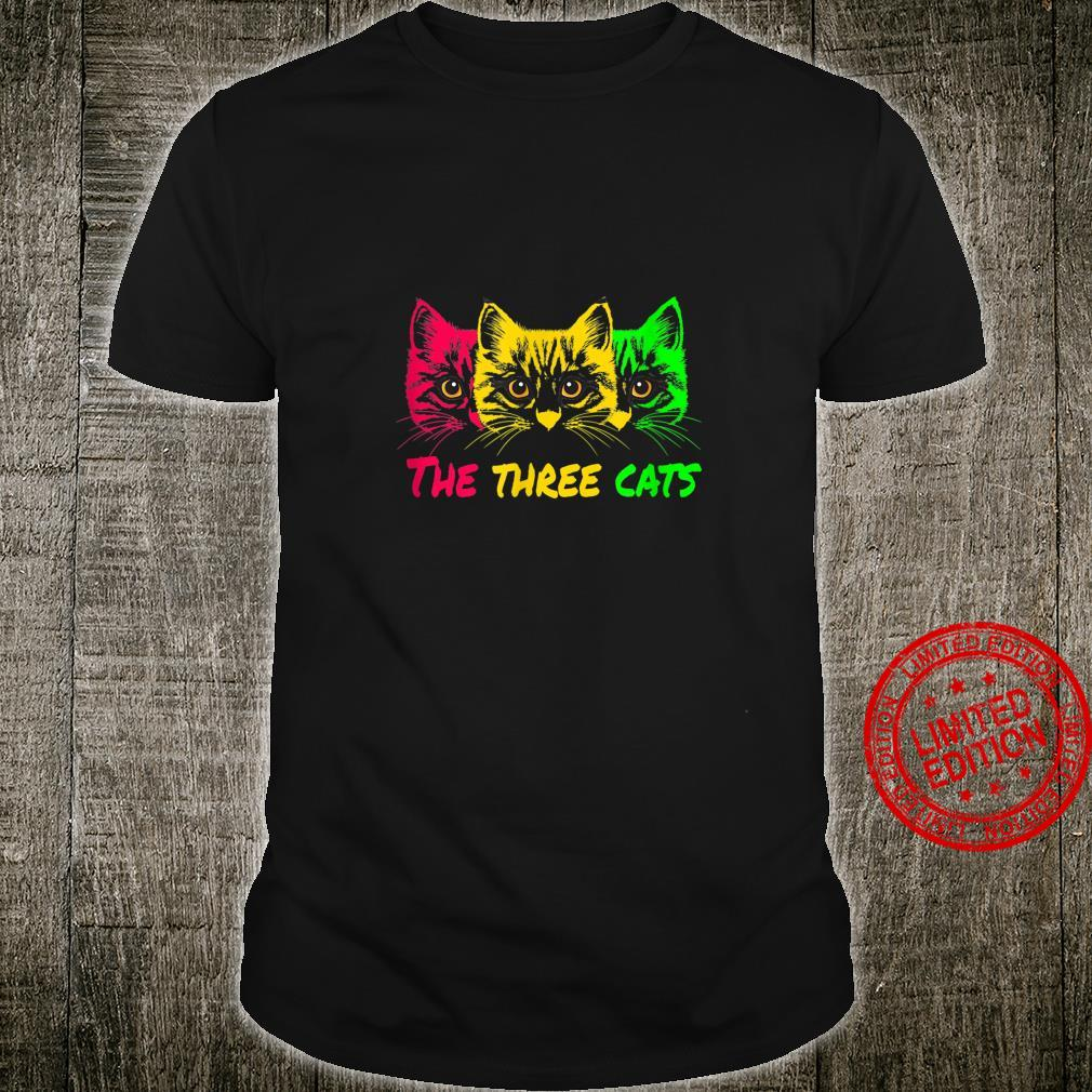 The three cats in my house very space Shirt