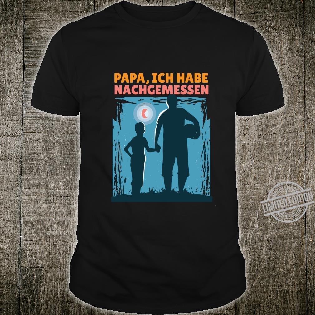 Vätertag Männer Papa Papa Papa Vater Geburtstag Geschenk Shirt
