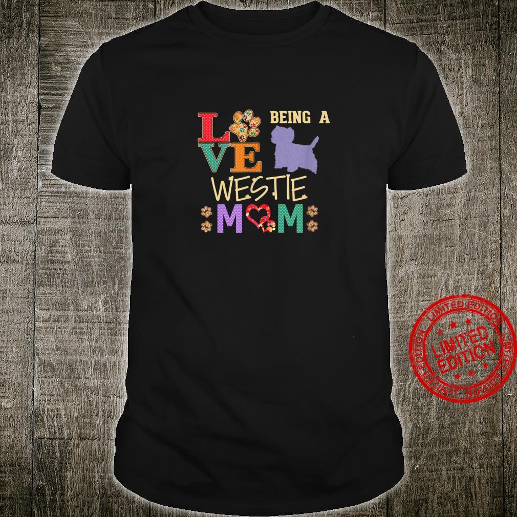 West Highland White Terrier Shirt Design For Westies Shirt